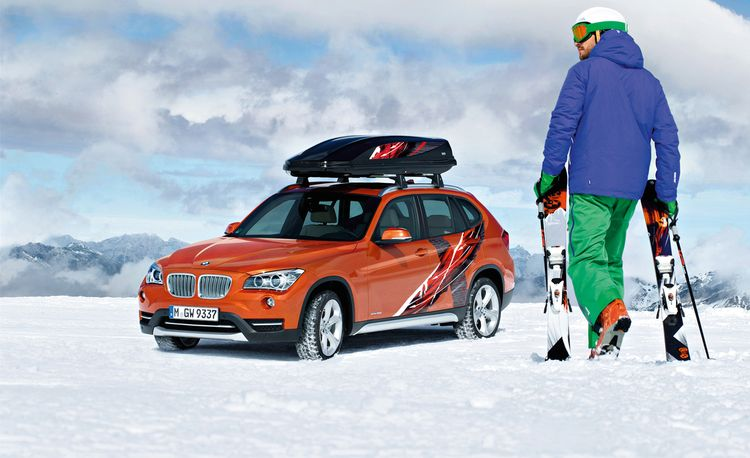 BMW Reveals 2013 X1 Powder Ride Production and Concept Models Ahead of L.A. Auto Show