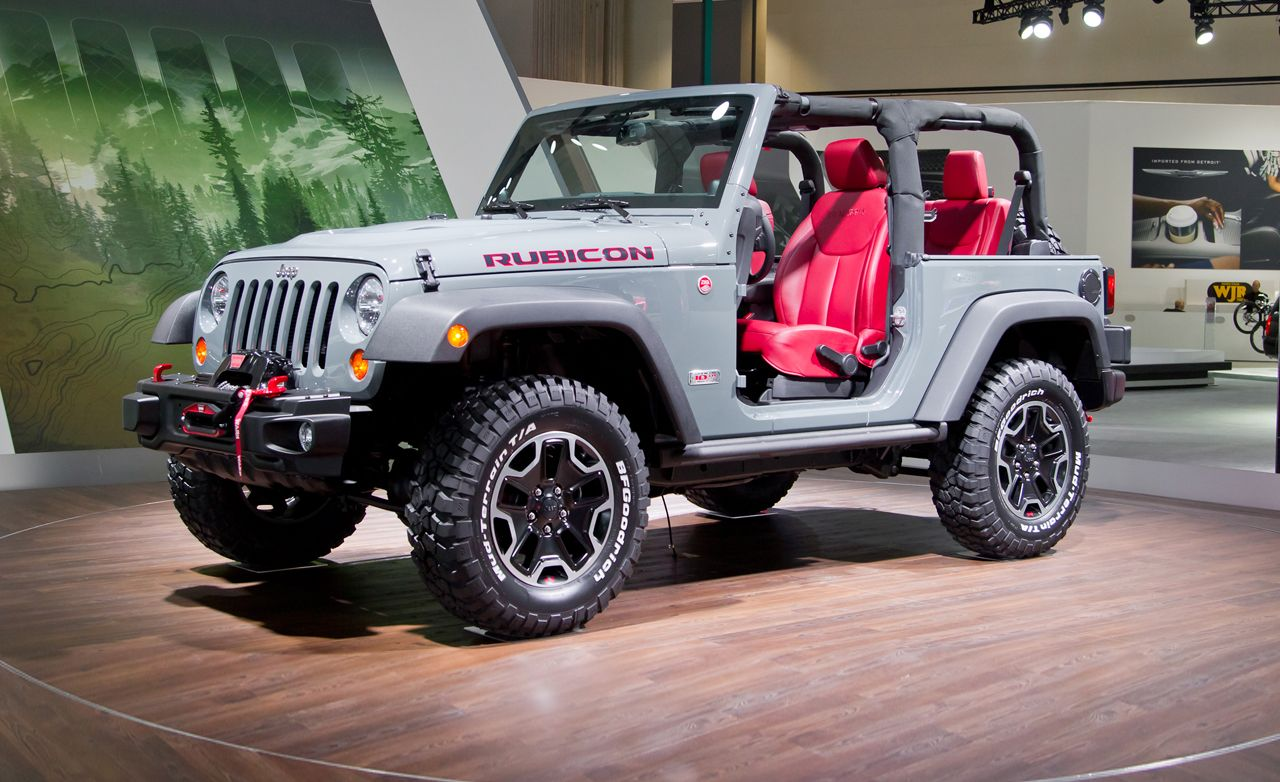 2013 Jeep Wrangler Rubicon 10th Anniversary Edition Debuts