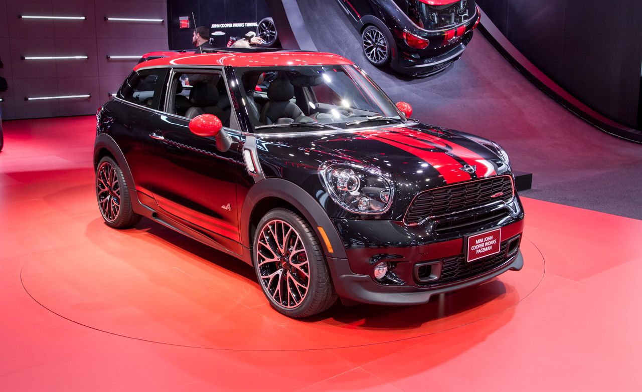 2013 Mini John Cooper Works Paceman Photos and Info | News ...
