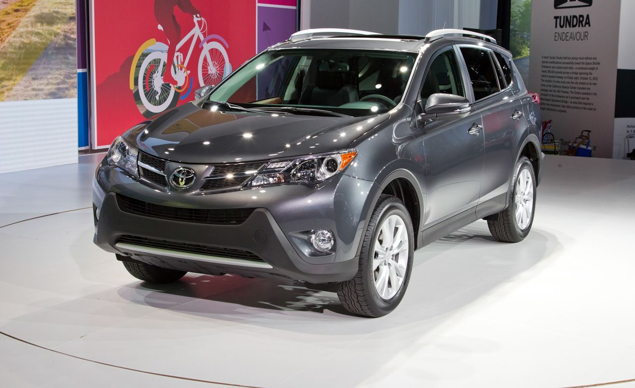 2013 toyota rav4 photos and info news car and driver. Black Bedroom Furniture Sets. Home Design Ideas