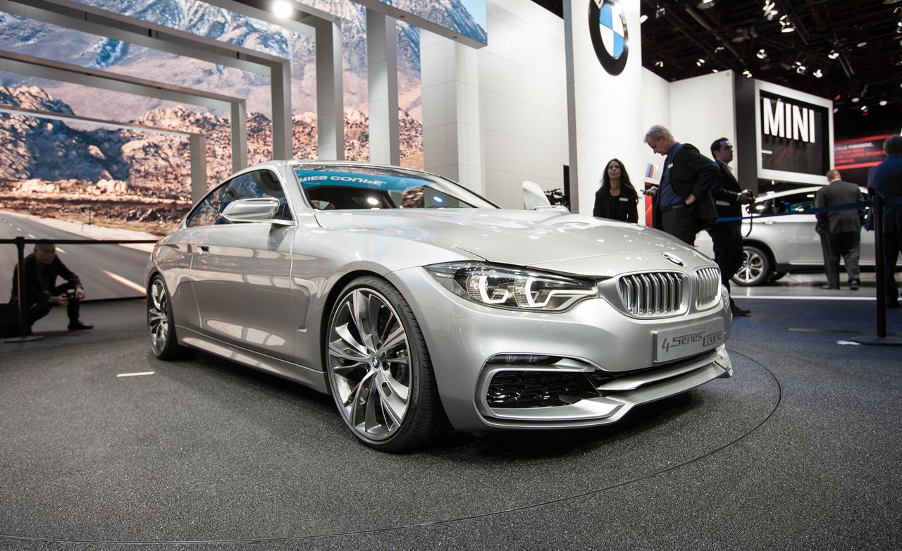 BMW Concept 4-series Coupe