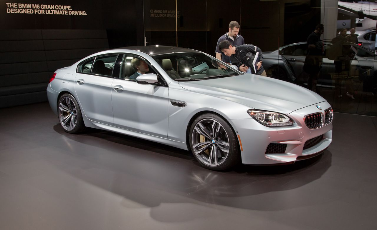 2014 Bmw M6 Gran Coupe Photos And Info News Car And Driver