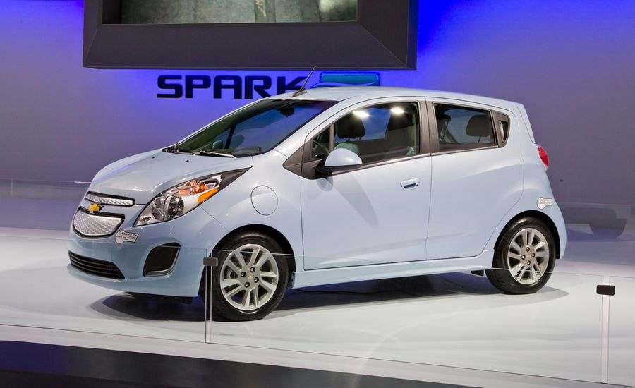 2014 chevrolet spark ev photos and info news car and driver. Black Bedroom Furniture Sets. Home Design Ideas