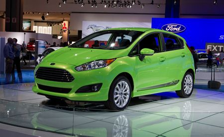 2014 Ford Fiesta Sedan and Hatchback: Refreshed Looks, Newly Available Turbo Engine