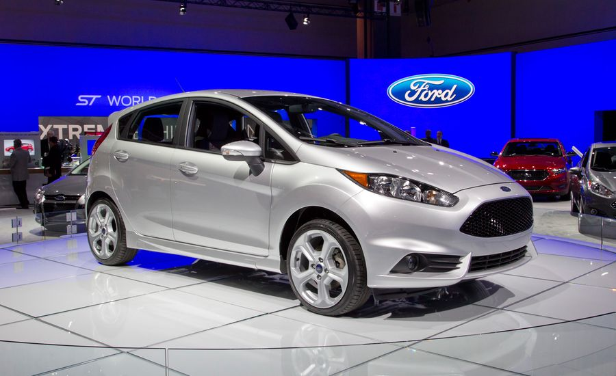 2014 Ford Fiesta St Hatchback Photos And Info News Car And Driver
