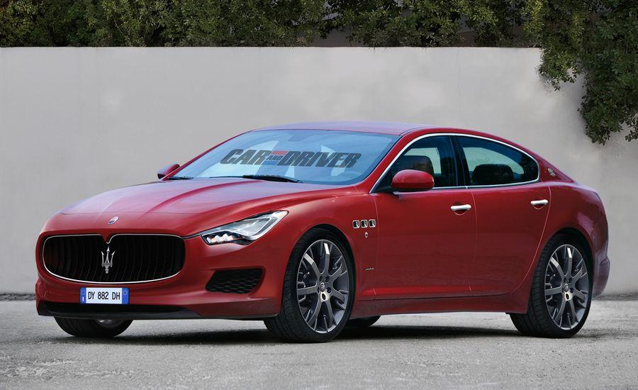 2014 Maserati Ghibli Sedan Rendered, Detailed
