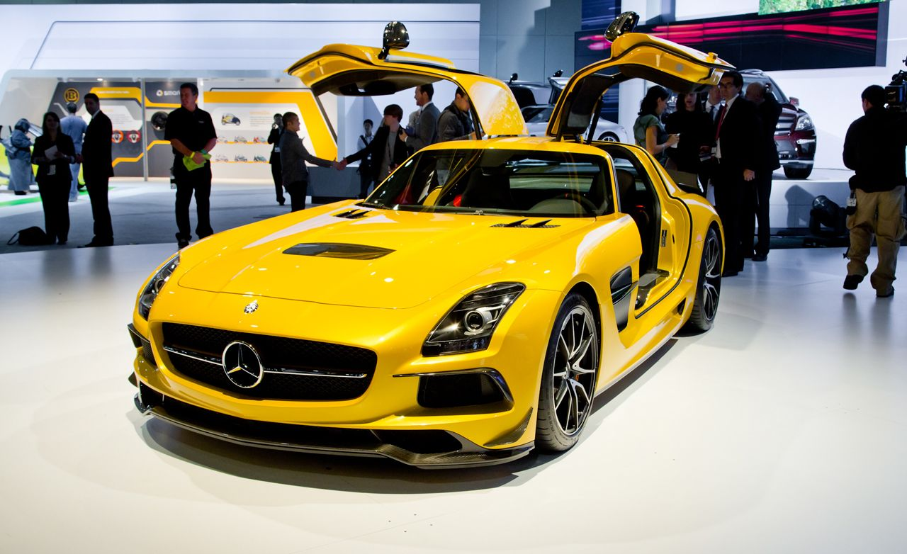 2014 Mercedes Benz Sls Amg Black Series Photos And Info