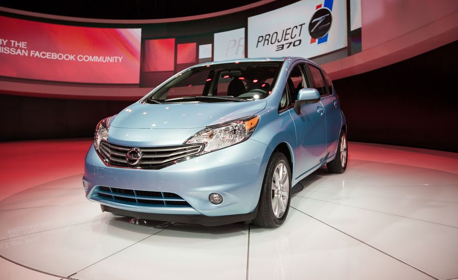 2014 Nissan Versa Note Photos And Info News Car And Driver