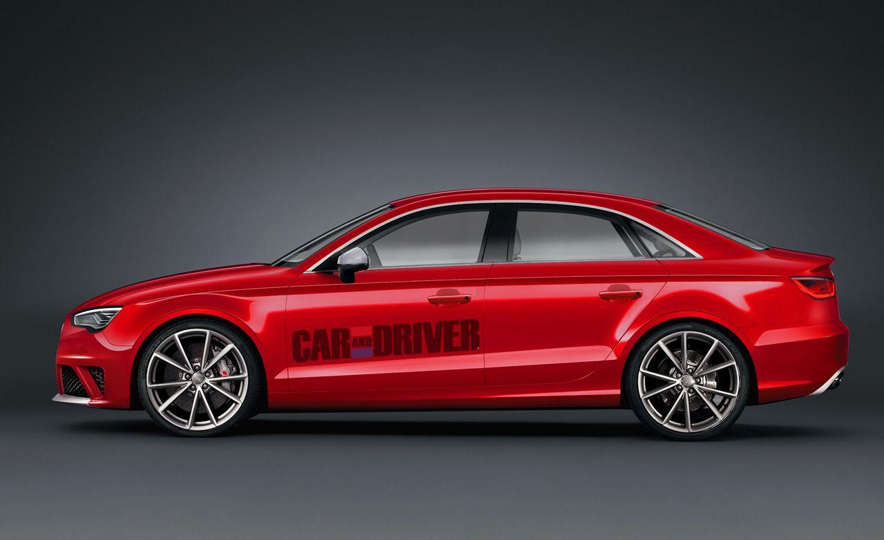 2015 Audi RS3 Sedan and Sportback Rendered