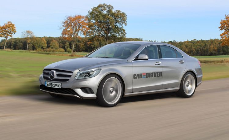 What to Expect from the Next-Gen Mercedes C-, E-, and S-classes