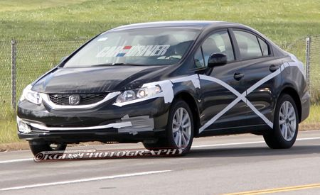 2013 Honda Civic Spy Photos
