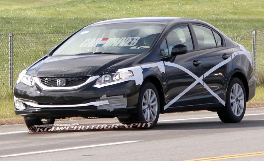 2013 Honda Civic Spy Photos