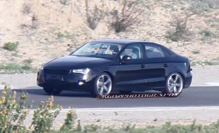 2014 Audi A3 Sedan Spy Photos