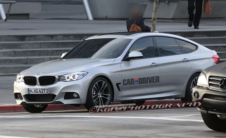 2014 BMW 3-series Gran Turismo Spy Photos