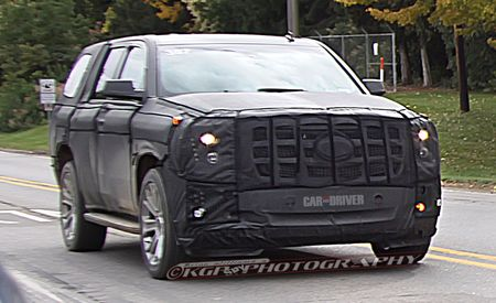 2014 Cadillac Escalade Spy Photos