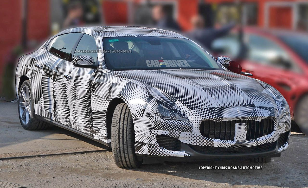 2014 Maserati Quattroporte Spy Photos
