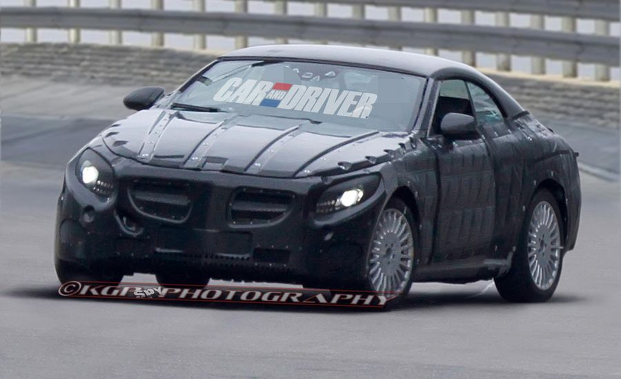 2015 Mercedes-Benz S-class Cabriolet Spy Photos