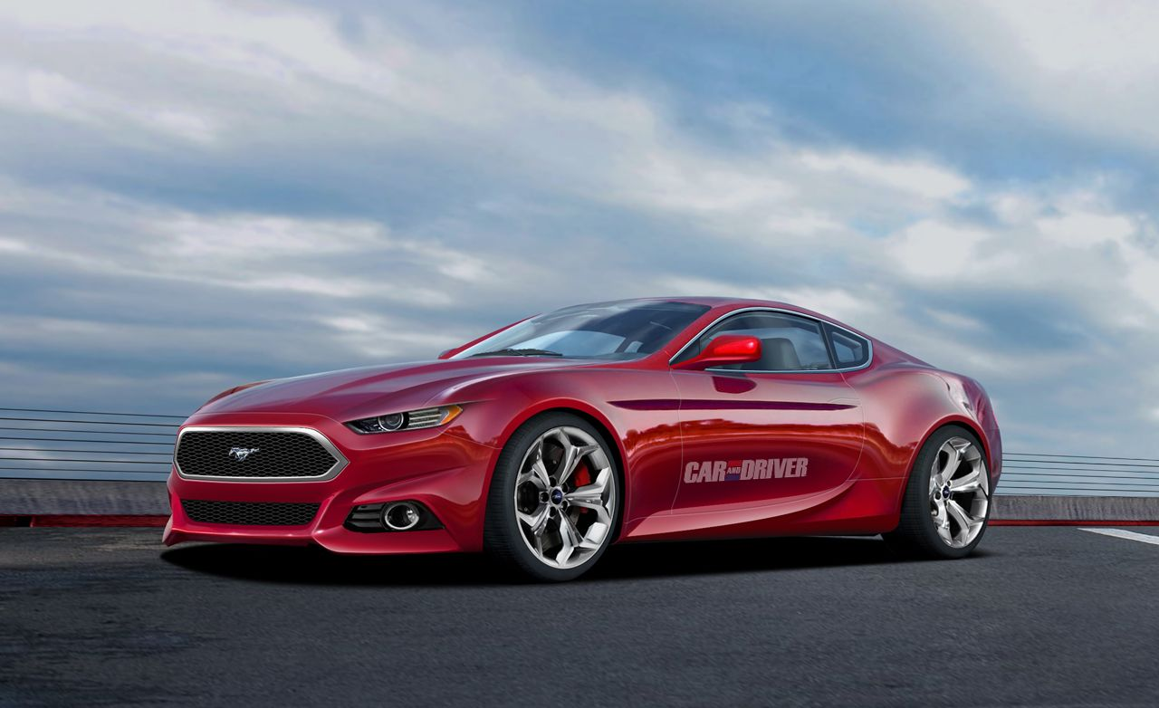 2015 Ford Mustang Rendered, Detailed