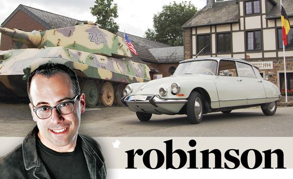 Aaron Robinson: Across Europe on a Hot Date with a Citroën ID19