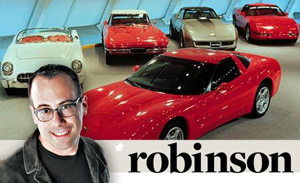 Aaron Robinson: The Exquisite, Expensive Hobby of Writing Car Books
