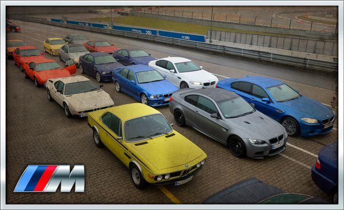 BMW M at 40: Driving History at the Nürburgring
