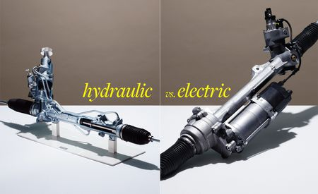 Are We Losing Touch? A Comprehensive Comparison Test of Electric and Hydraulic Steering Assist