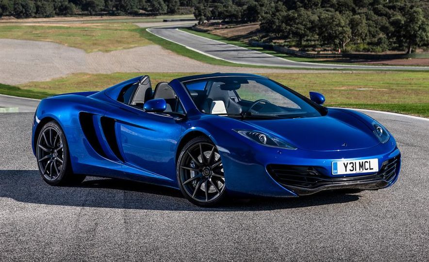 2013 McLaren MP4-12C Spider - Slide 7