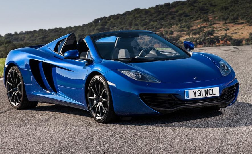 2013 McLaren MP4-12C Spider - Slide 8