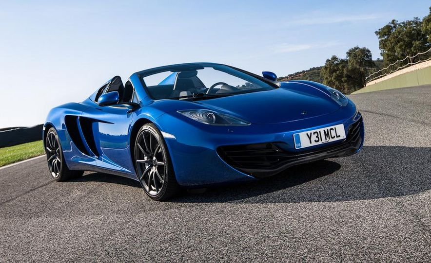 2013 McLaren MP4-12C Spider - Slide 9
