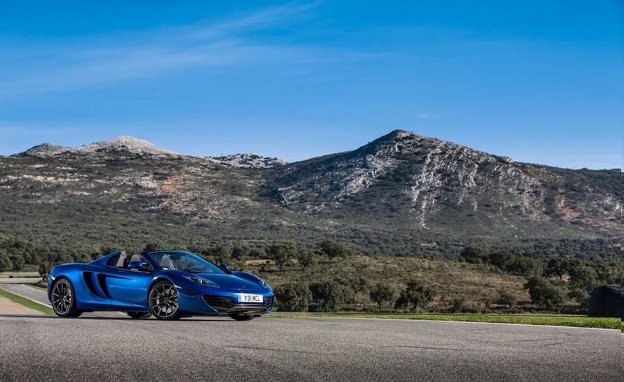 2013 McLaren MP4-12C Spider - Slide 11
