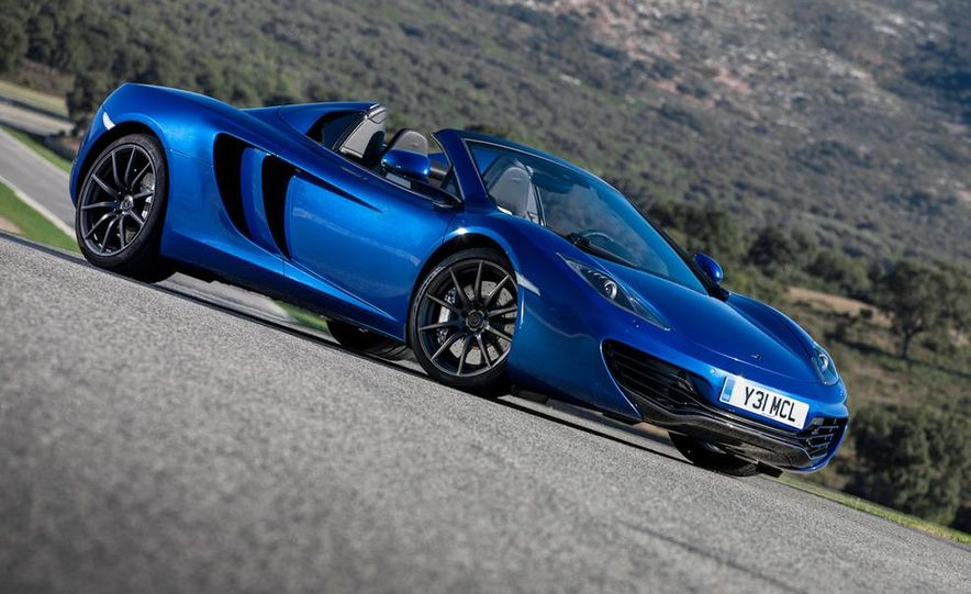 2013 McLaren MP4-12C Spider - Slide 12