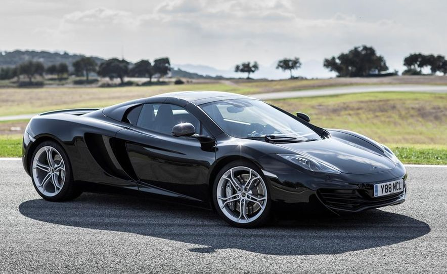2013 McLaren MP4-12C Spider - Slide 60