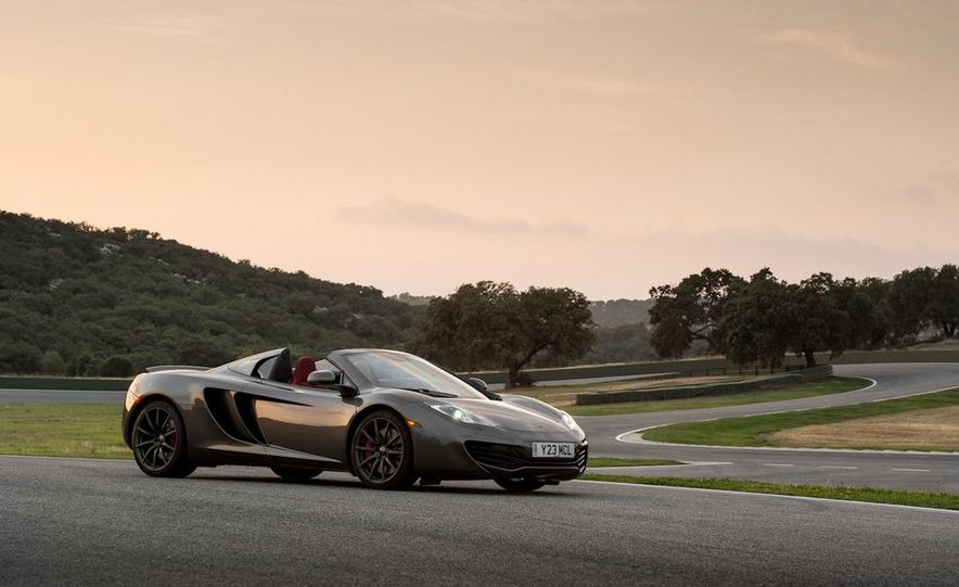 2013 McLaren MP4-12C Spider - Slide 69
