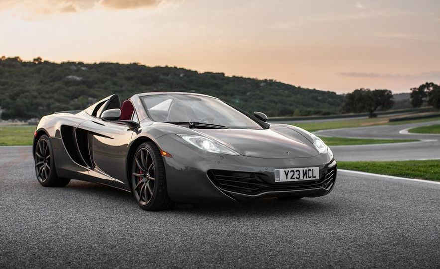 2013 McLaren MP4-12C Spider - Slide 71