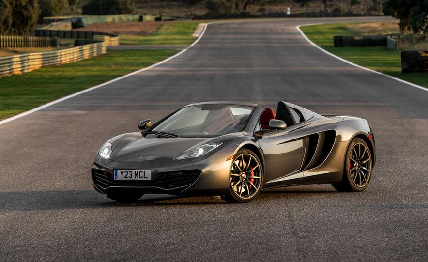 2013 McLaren MP4-12C Spider - Slide 73
