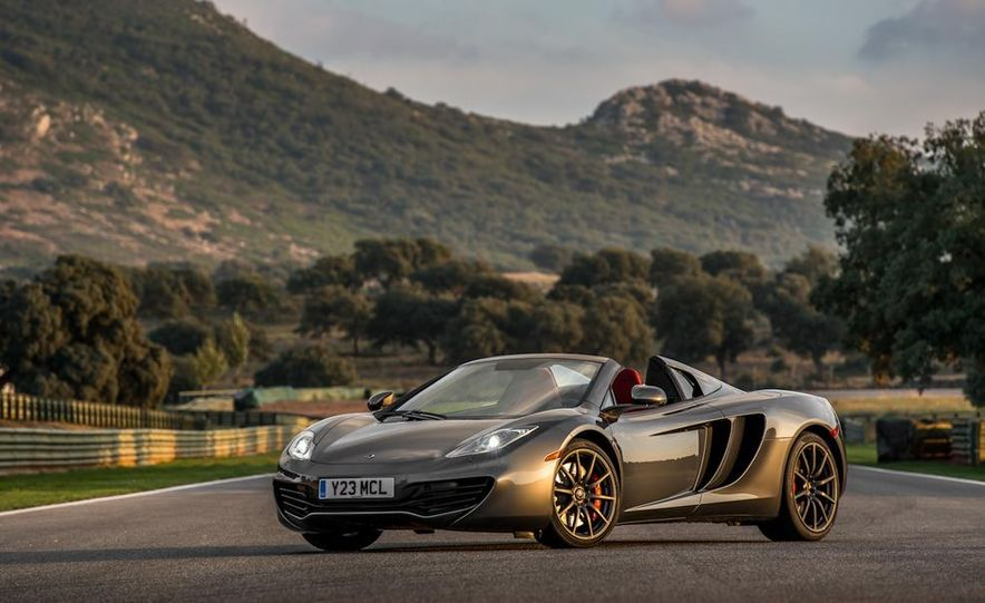 2013 McLaren MP4-12C Spider - Slide 74
