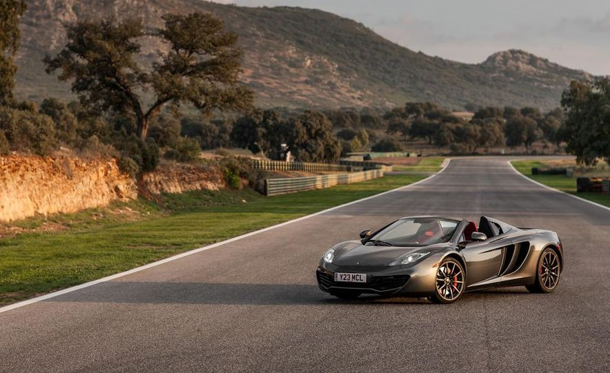 2013 McLaren MP4-12C Spider - Slide 76
