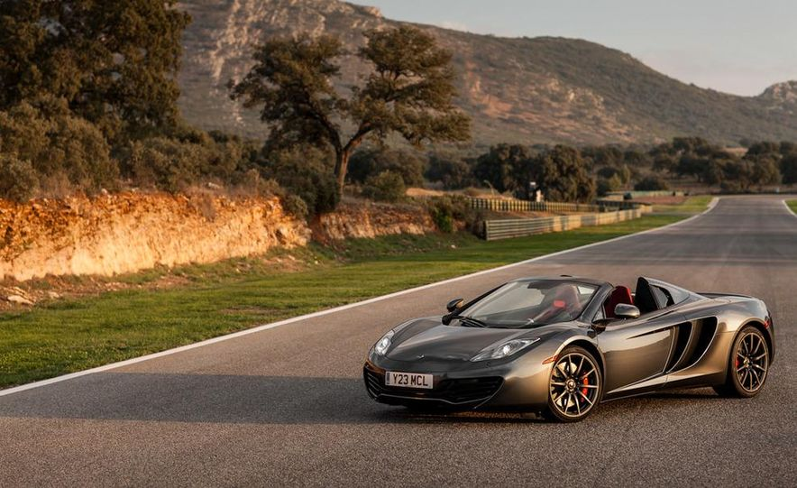 2013 McLaren MP4-12C Spider - Slide 77