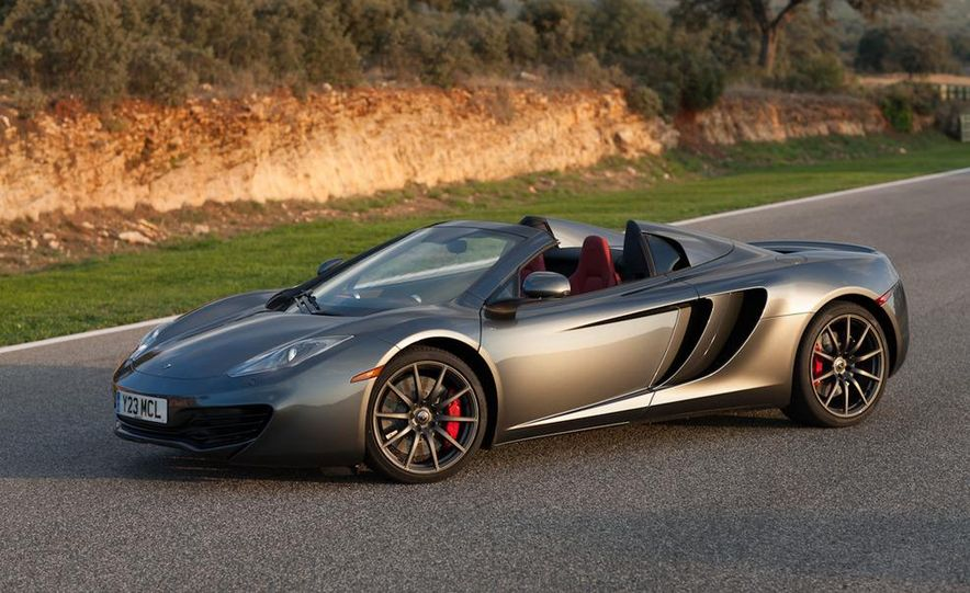 2013 McLaren MP4-12C Spider - Slide 79