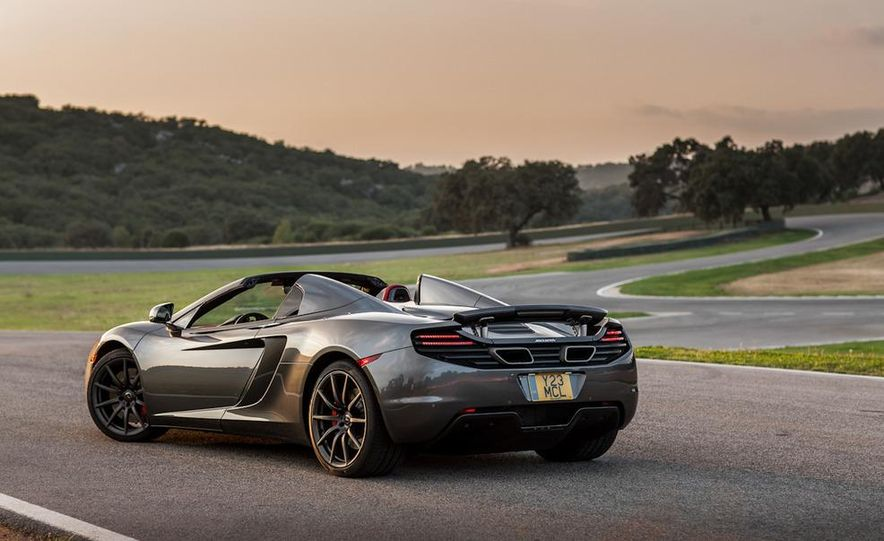 2013 McLaren MP4-12C Spider - Slide 81