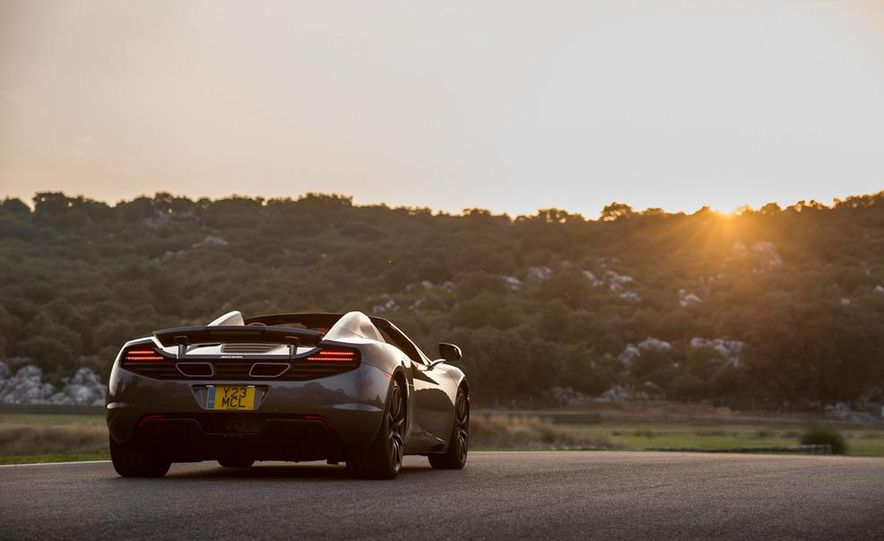 2013 McLaren MP4-12C Spider - Slide 92
