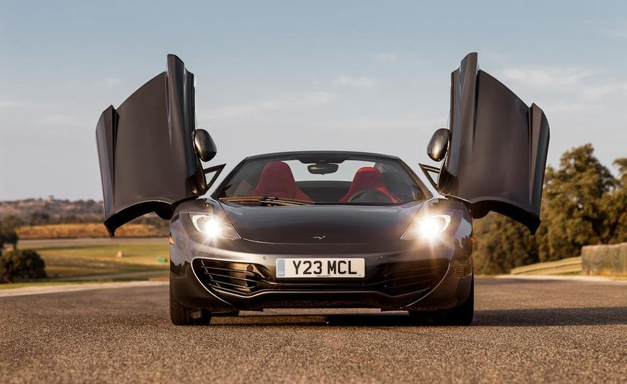 2013 McLaren MP4-12C Spider - Slide 99