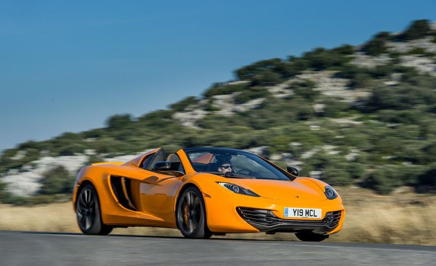 2013 McLaren MP4-12C Spider - Slide 104
