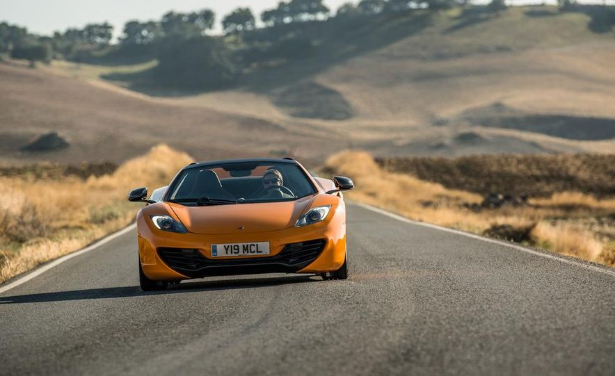 2013 McLaren MP4-12C Spider - Slide 105