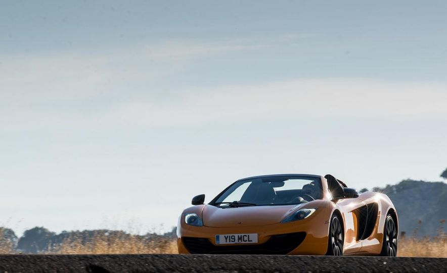 2013 McLaren MP4-12C Spider - Slide 106