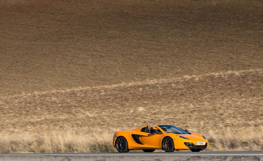 2013 McLaren MP4-12C Spider - Slide 107