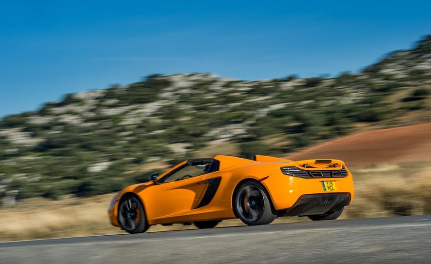 2013 McLaren MP4-12C Spider - Slide 110