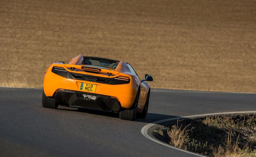 2013 McLaren MP4-12C Spider - Slide 111