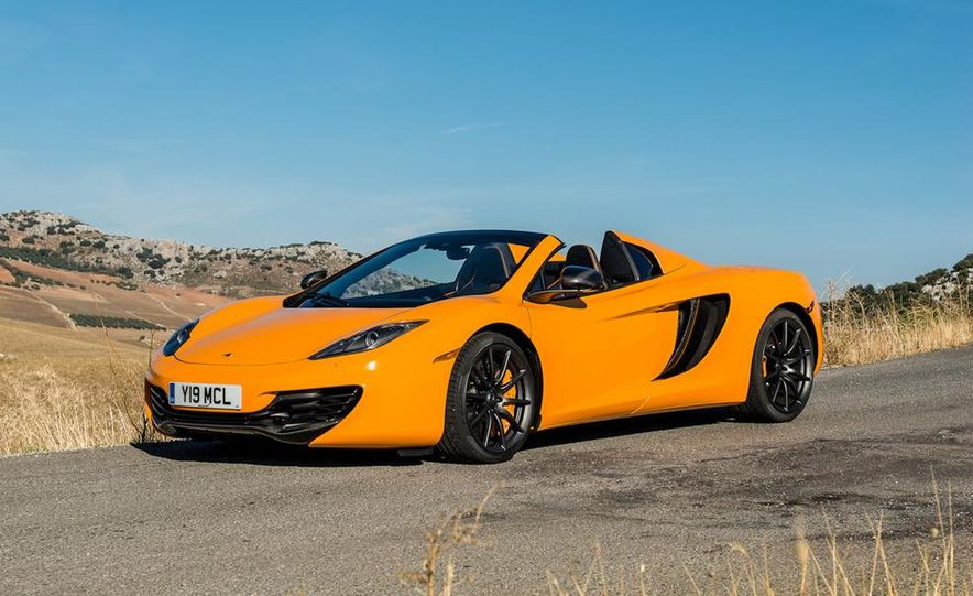 2013 McLaren MP4-12C Spider - Slide 112
