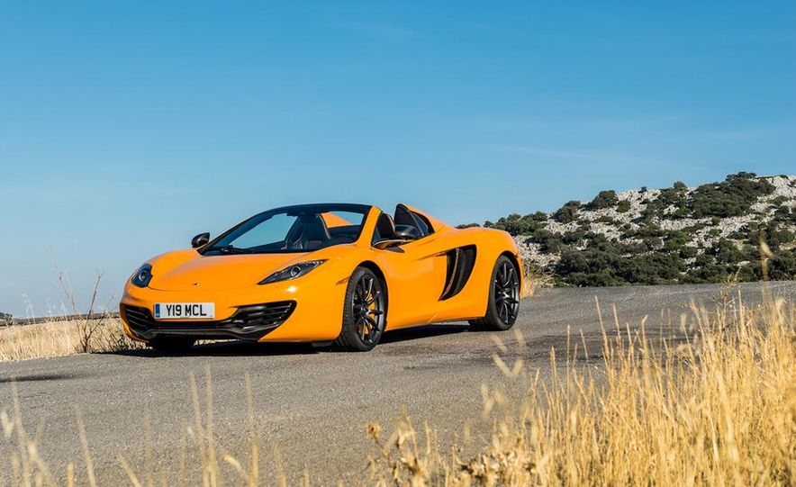 2013 McLaren MP4-12C Spider - Slide 113